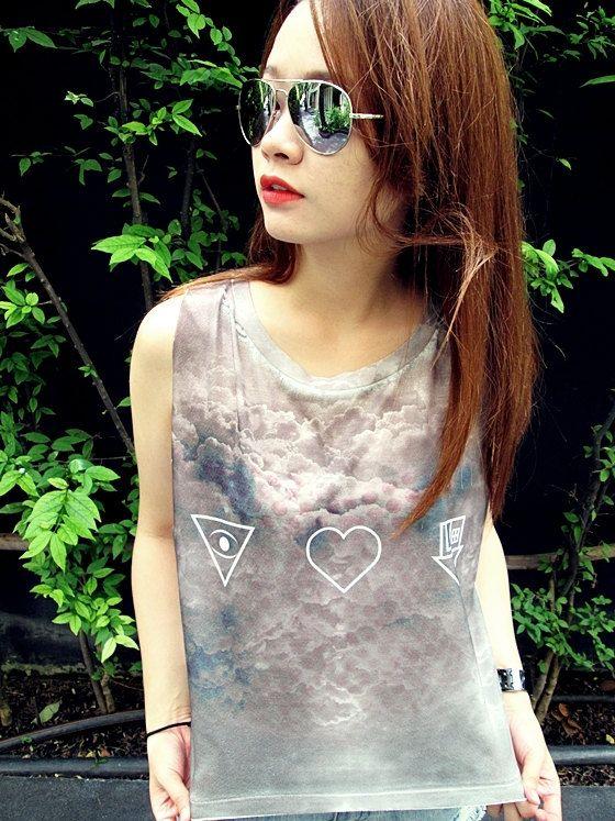 The Neighbourhood Women Shirt Girl Tank Tops White  by YesinThis, $14.99