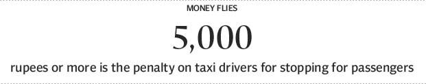 Out on the roads: A big yellow taxi protest - The Express Tribune