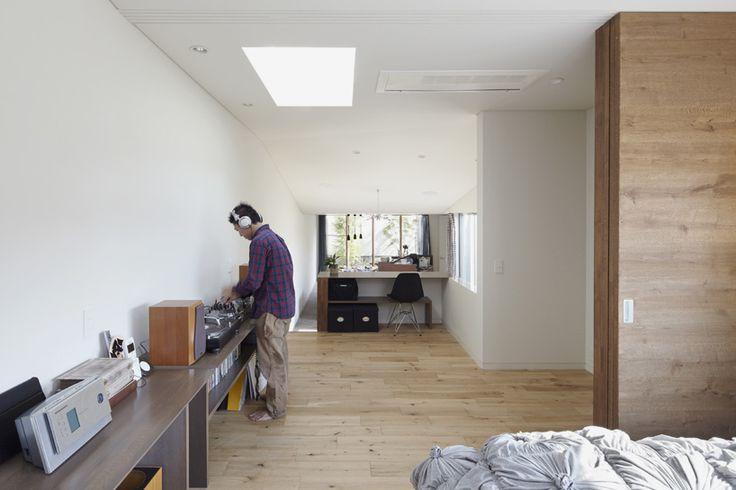 roote architects N house fukuoka japan designboom