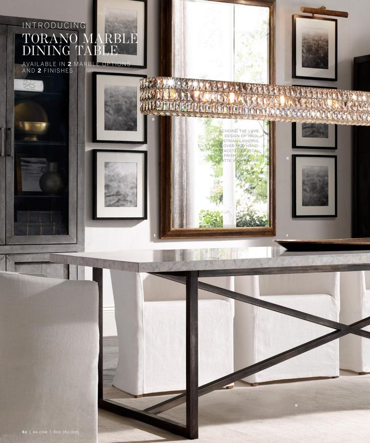 Like A Rectangular Chandelier Over Rectangle Kitchen Table