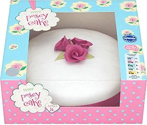 Asda Princess Cake Decorations : Tesco Posey Celebration Cake - 18 Servings - Madeira ...