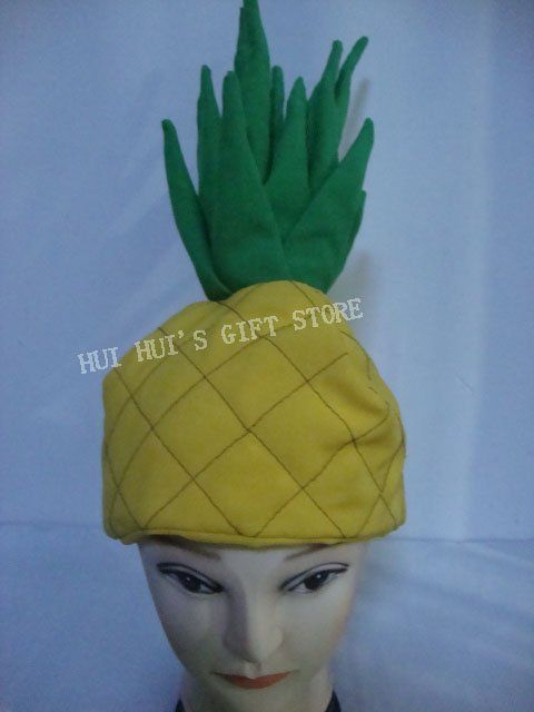 Cheap hat 3d, Buy Quality hat clip art free directly from China hat Suppliers: Free shipping .Fruit Hat/Pineapple hat/Party hat/Carnival hat,suitable for party ,performance ,carnival ,halloween and s