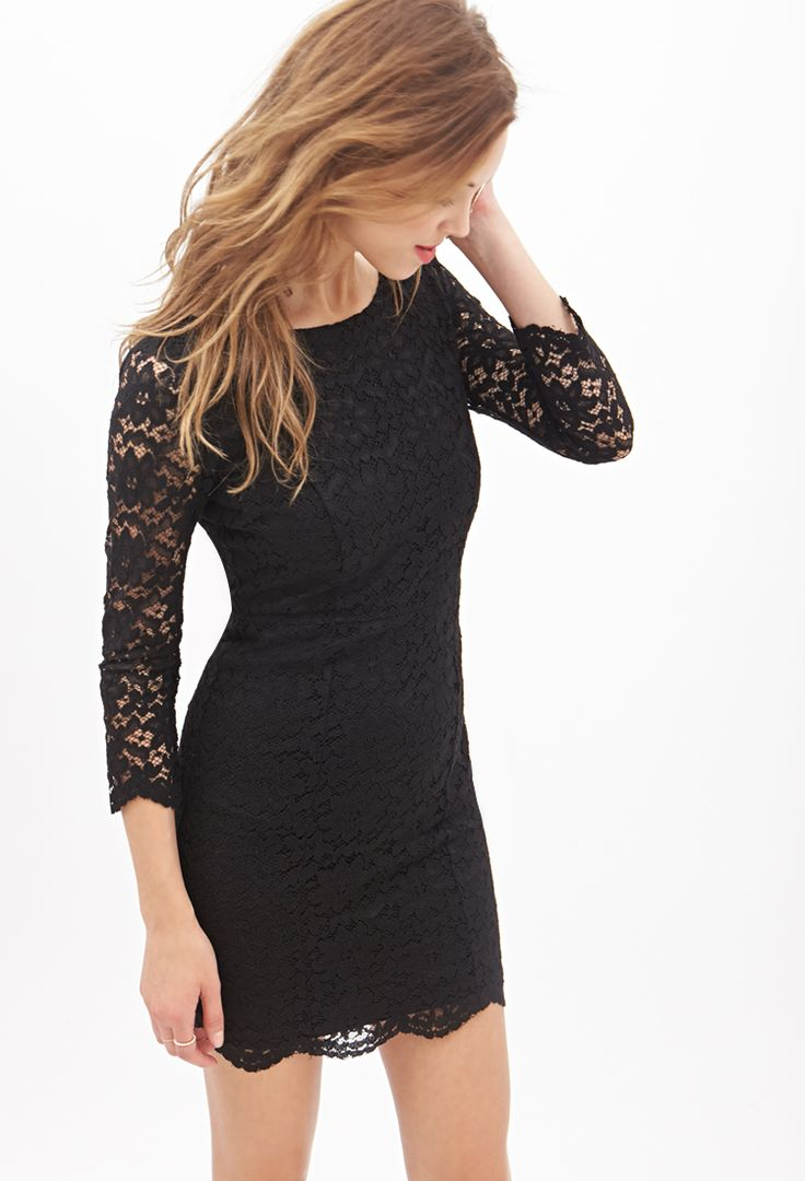Classic Floral Lace Dress | FOREVER21 - 2000060221