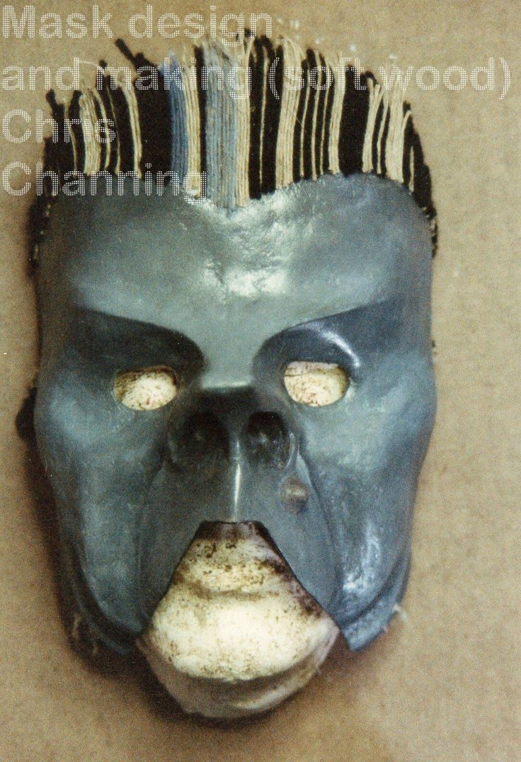 mask from a 1940s Disney short film