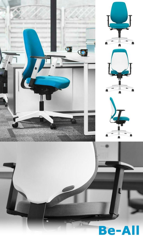 Ergonomiczny fotel biurowy o nowoczesnym designie. Be-All to dobry wybór dla tych, którzy poszukują dobrego, wygodnego krzesła. #krzesłobiurowe