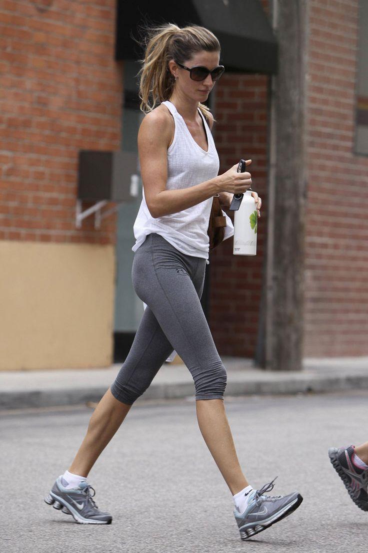 Gisele bundchen, Sporty style and Gym on Pinterest Gisele Bundchen Workout