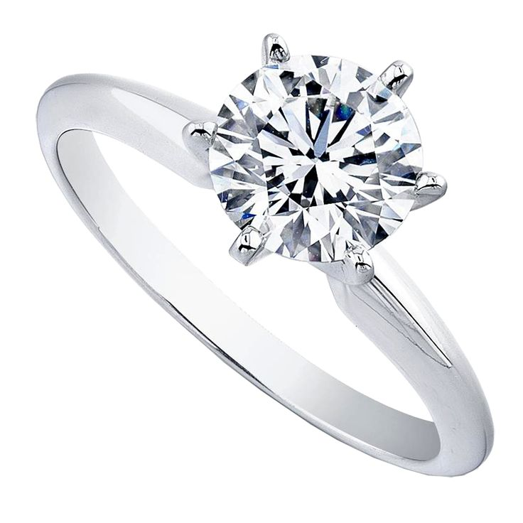 New York Style Solitaire Diamond ring