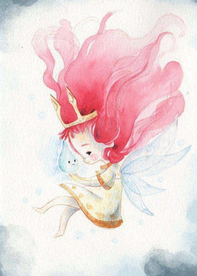 Aurora of Child Of Light by Fabiana Attanasio