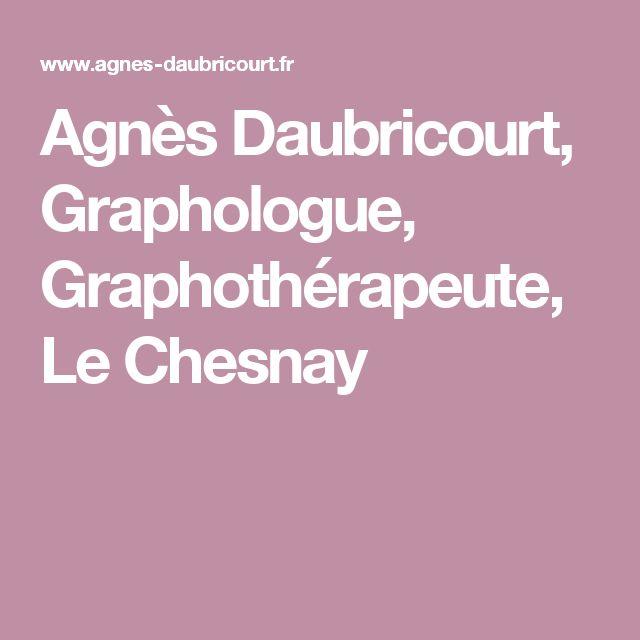 Agnès Daubricourt, Graphologue, Graphothérapeute, Le Chesnay