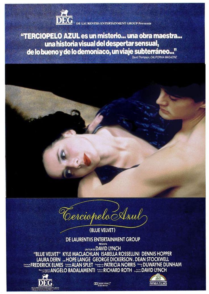 Terciopelo azul (1986) EEUU. Dir: David Lynch. Drama. Suspense. Cine negro. Cine independente USA. Películas de culto - DVD CINE 1068