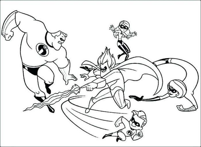 Incredibles Coloring Pages To Print Cartoon Coloring Pages Baby Coloring Pages Disney Coloring Pages