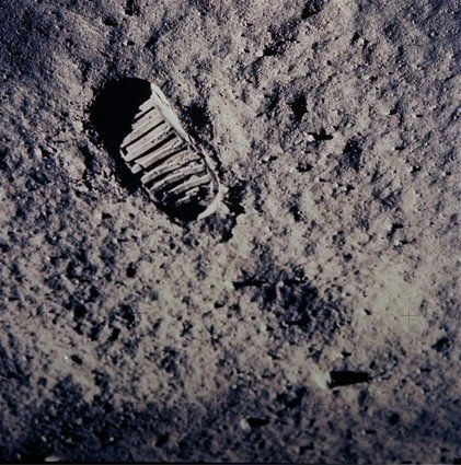The Moon Landing: In Pictures