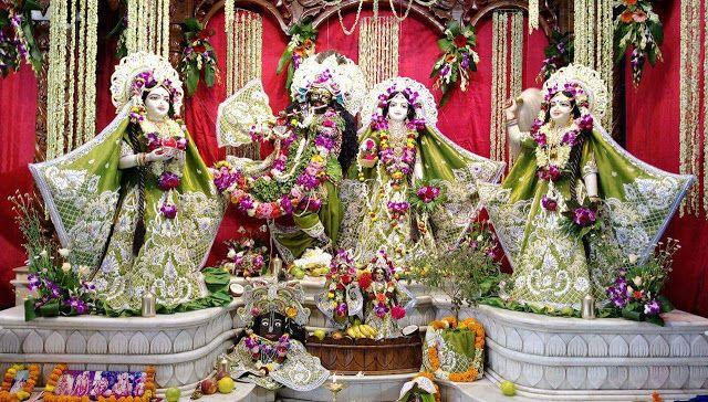 LIVE - Sri Krishna Janmashtami Celebrations at Iskcon Temple in Siliguri today - Details    7pm to 11.30pm - Kalash Abhishek 1am - Prasadam for all 120th Vyasa Puja Appearance Day Celebrations of His Divine Grace AC Bhaktivedanta Swami Prabhupada - Founder Acharya of the International Society for Krishna Consciousness (ISKCON)  Siliguri