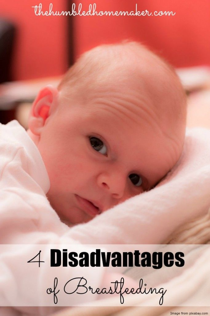 4 Disadvantages of Breastfeeding