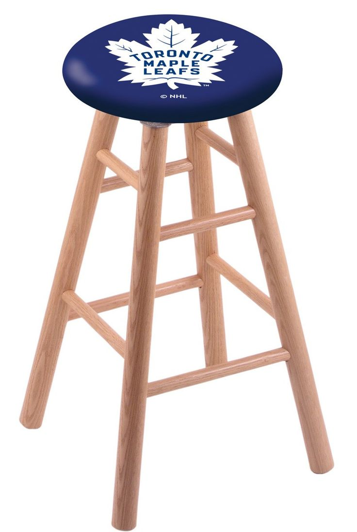 University of Kentucky Wildcats Swivel Stool w Natural Oak Wood Base from Team Sports now to shop College Kitchen Bar Stools