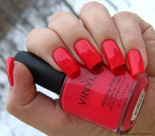 Cnd Vinylux Lobster Roll Our Products In 2019 Cnd Vinylux Nail Colors Creative Nail Designs