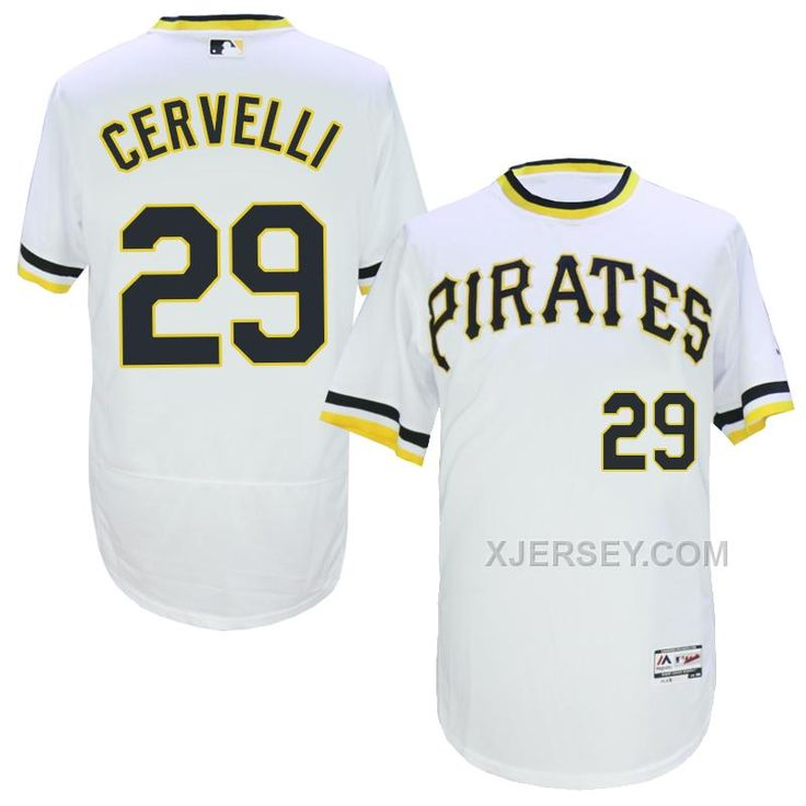 http://www.xjersey.com/pirates-29-francisco-cervelli-white-throwback-flexbase-jersey.html PIRATES 29 FRANCISCO CERVELLI WHITE THROWBACK FLEXBASE JERSEY Only $35.00 , Free Shipping!