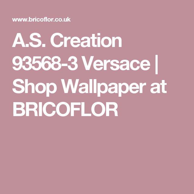 A.S. Creation 93568-3 Versace | Shop Wallpaper at BRICOFLOR