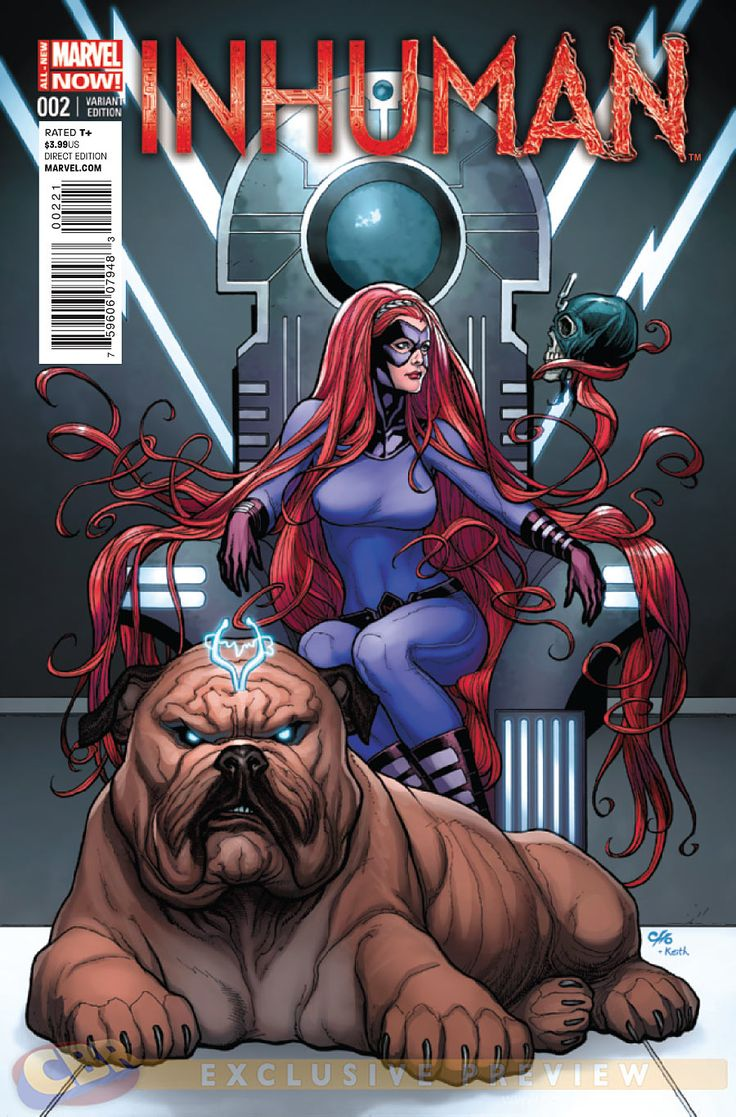 Inhumans Comic Book | COMICS: Medusa Recruits New Inhumans In INHUMAN #2 Preview