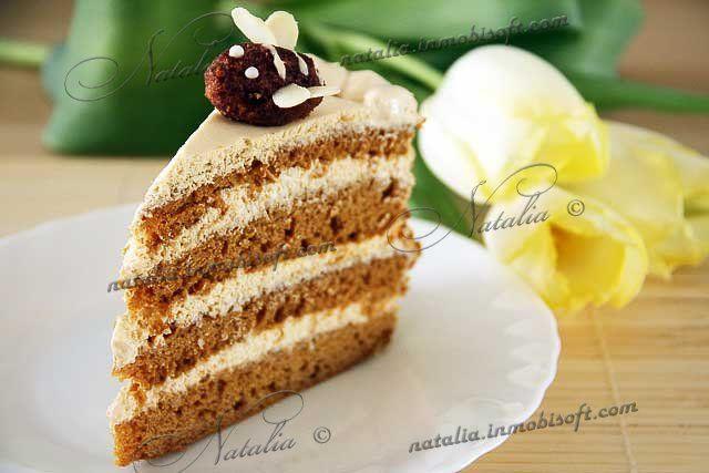 "Торт ""Пчелка"" (медовик наливной)"
