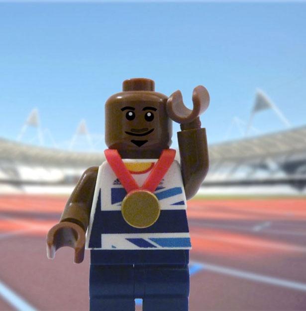 Team GB London Olympic gold medal winners in Lego - Life - Stylist Magazine