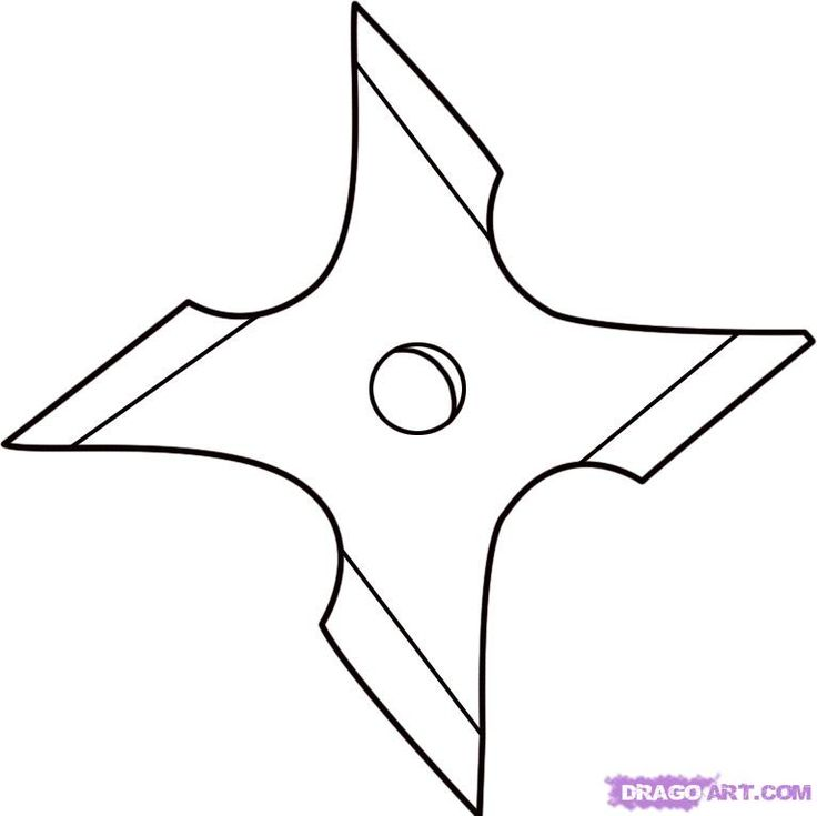 free ninja star coloring pages - photo#25