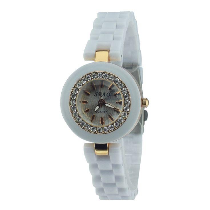 $7.99 (Buy here: https://alitems.com/g/1e8d114494ebda23ff8b16525dc3e8/?i=5&ulp=https%3A%2F%2Fwww.aliexpress.com%2Fitem%2FSbao-White-Women-S-Designer-Watches-Water-Resistant-Ceramic-Watches-For-Women-Casual-Wrist-Watch-Reloj%2F32692841380.html ) Sbao Ceramic Wrist Watch Women Luxury Brand Logo Water Resistant White Wrist Watches For Women Orologi Donna Ceramica Bianca for just $7.99