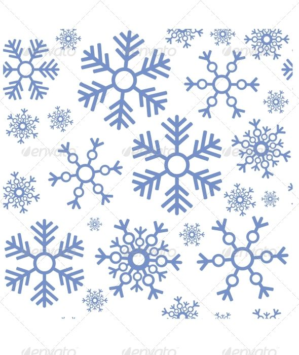Seamless Snowflake Texture 463 Abstract Paper Snow And Xmas