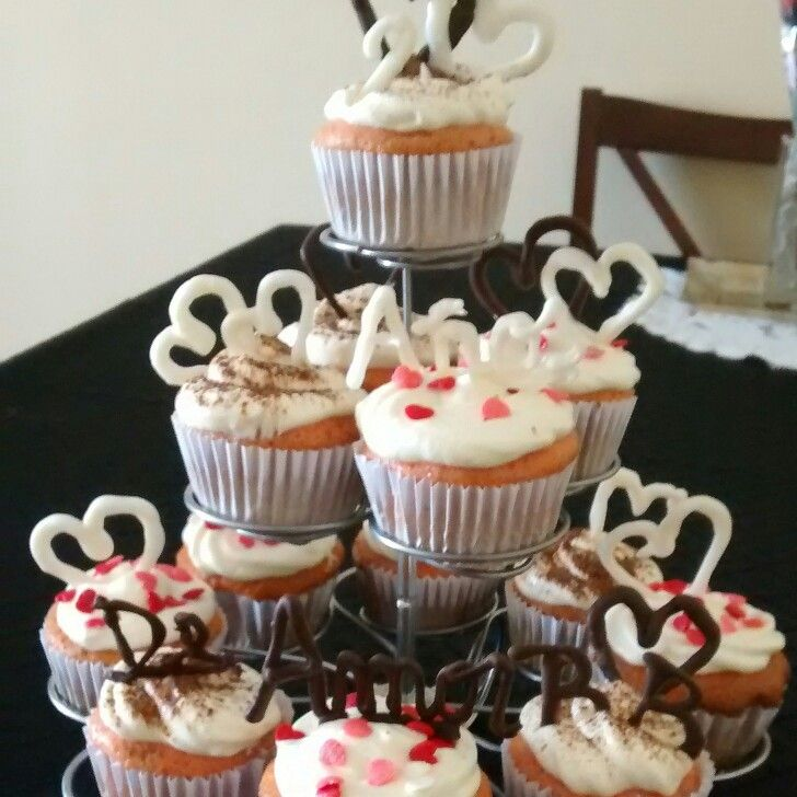 Cup cakes Amor