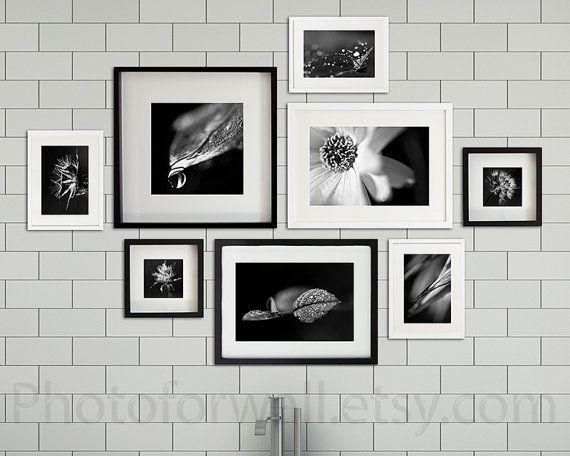 Bathroom Decor Set Of 8 Photographs Bathroom Set By PHOTOFORWALL