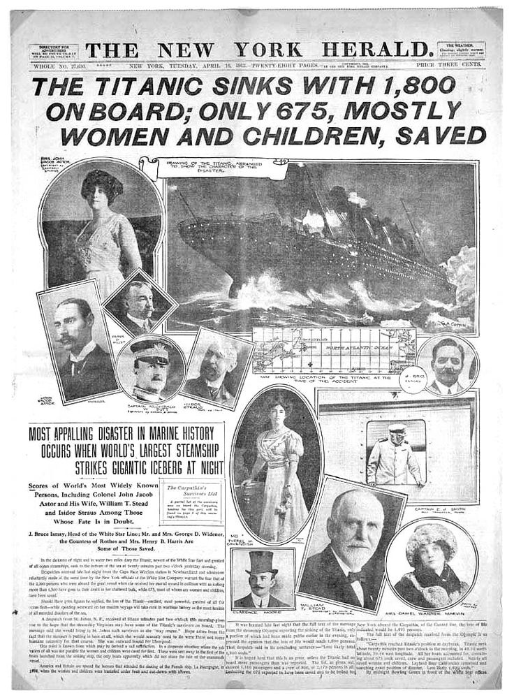the unsinkable ship The world was shocked when the titanic hit an iceberg at 11:40 pm on april 14, 1912, and sunk just a few hours later at 2:20 am on april 15, 1912the unsinkable ship rms titanic sank on its maiden voyage, losing at least 1,517 lives (some accounts say even more), making it one of the deadliest maritime disasters in history.