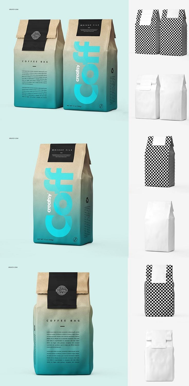 Download Editable Best Coffee Bag Mockup Templates Psd Download Now Bag Mockup Coffee Bag Design Packaging Template Design
