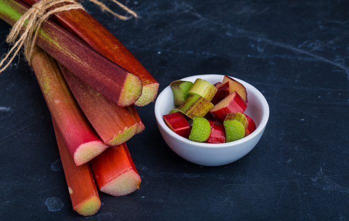 Roasted low-sugar rhubarb