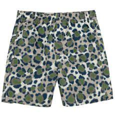 Kenzo Kids - Signature print stretch lycra swim shorts - 65542