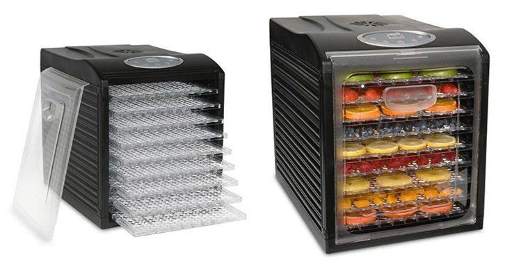 Electric Food Dehydrator Fruit Vegetable Dryer Machine Jerky Maker 9 Trays 600W #ElectricFoodDehydrators