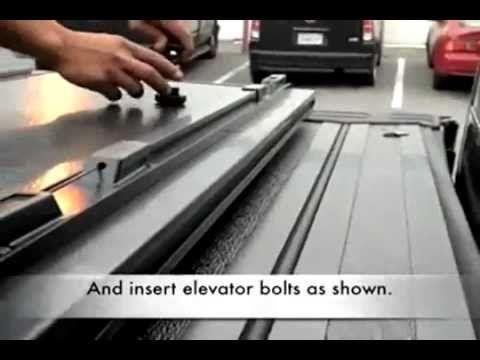 Installation of the BAK BAKFlip F1 Hard Tonneau Cover on a 2011 Dodge Ram Pickup - etrailer.com - YouTube
