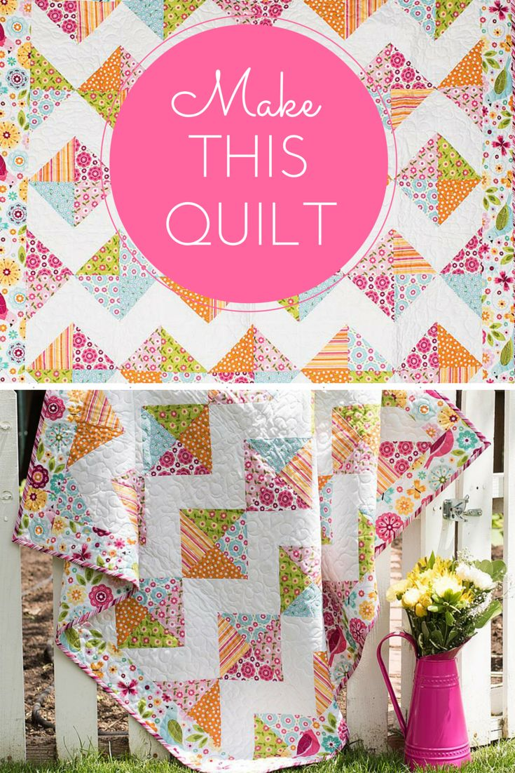 toy! Your Riley Blake Tori's Toy Box Quilt Kit includes a pattern ...