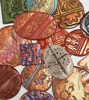 how to make paper weight using clay