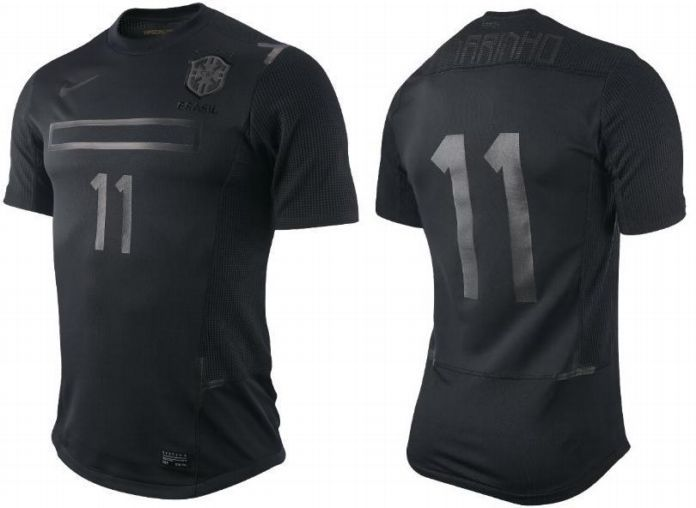 The Brazilian team will have its black version in 2011