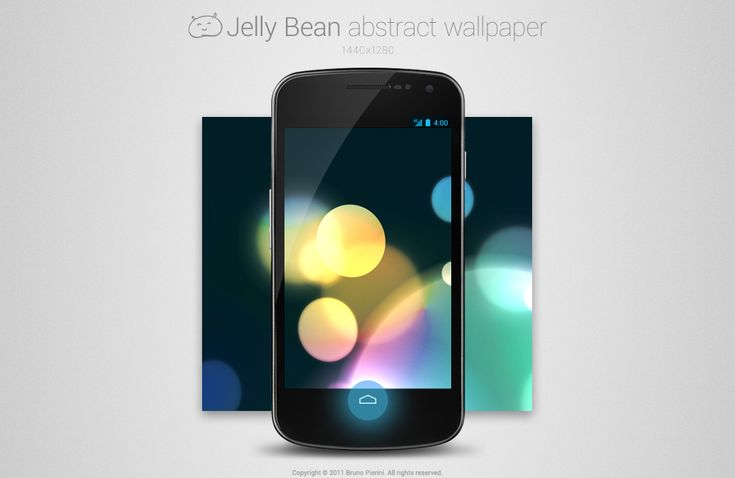 Jelly Bean Abstract Wallpaper by *Nemed on deviantART