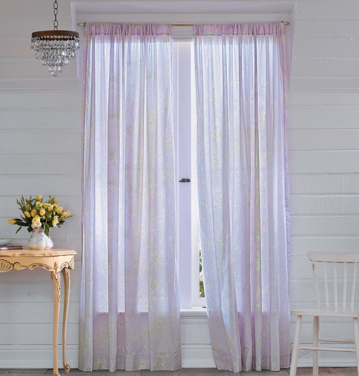 Simply Shabby ChicR Lilacs Panel In Lavender 1999 At Target