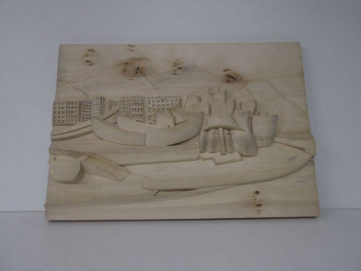 retablo tallado en TILO.55 x38x5.pieza unica y firmada.P.v.550 euros,