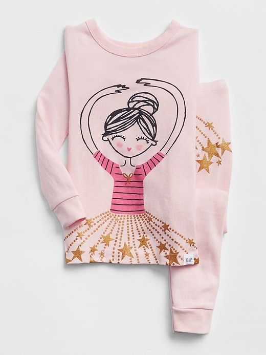 4ceea3db8ce9c Gap Baby Ballerina Pj Set New Powder | Products | Baby girl pajamas ...