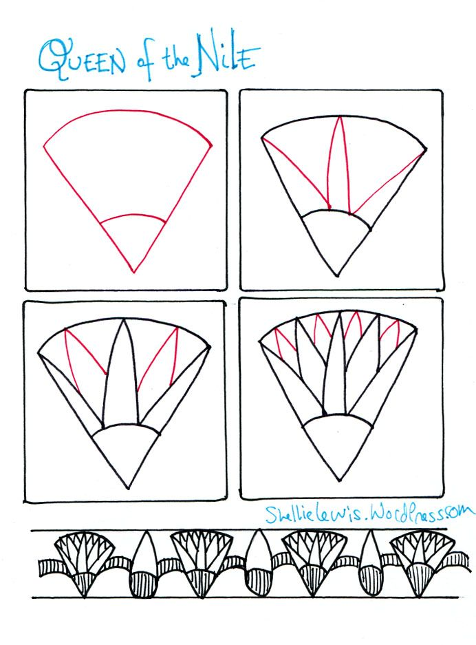 tangle patterns   Tangle Pattern Design Adventure   Shellie Lewis' Blog