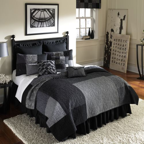 Mens bedding bedding for men masculine comforters for Mens bedroom furniture sets