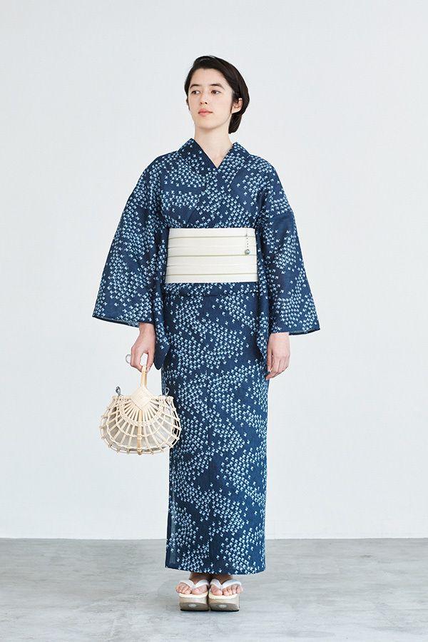 ザ・ヤード17年春夏、伊勢型紙の柄をピンクや水色に染めた新作ゆかた、新宿に期間限定ストアをオープン | ファッションプレス