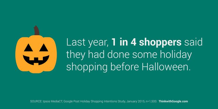The holiday shopping season starts earlier than you may think. Are you prepared? http://goo.gl/h4U7HN