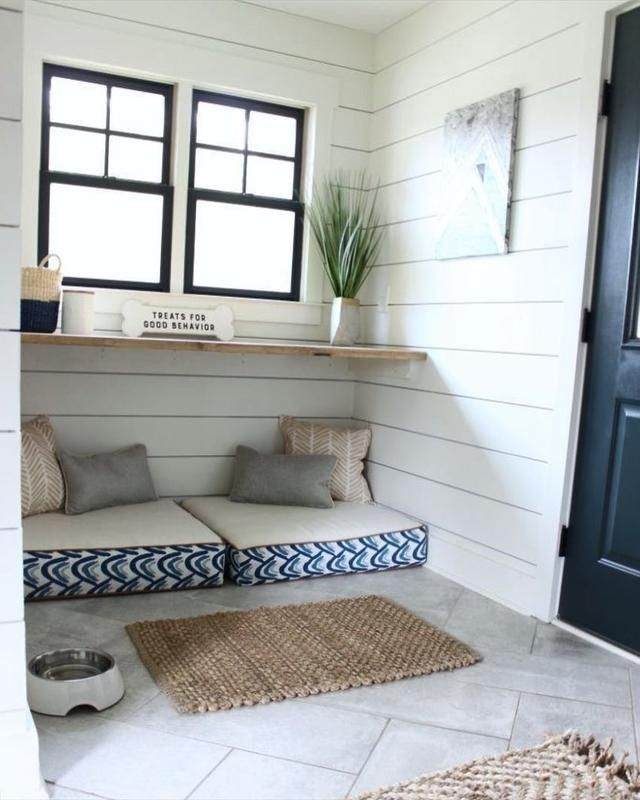 30 Modern Pet Friendly Interior Designs Built In Dog Bed Dog