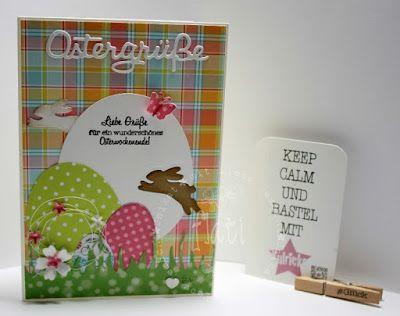 Kulricke Dies and Clearstamps: Ostergrüße