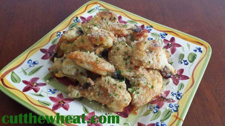 Game Day Garlic Parmesan Wings